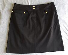Jones New York Womens Black Skirt  Size 14 Career Work Office Wear