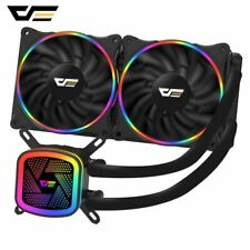 NEW Aigo DarkFlash DT240 Water Liquid Cooling Cooler Radiator with RGB LED 240mm
