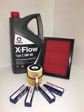 MINI COOPER 1.6 01-04 OIL FILTER AIR FILTER 5 LITRES OF OIL * 4 SPARK PLUGS R50