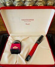 """""""EXTREMELY RARE"""" Pineider Grandi Uffizi Red Fountain Pen - In Pristine Condition"""