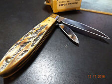 CASE XX POCKET KNIFE MODEL 50479 TEAR DROP 6.5 BONE STAG 2 BLADE NEW FOR 2016