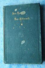Ruskin Das Adlernest 5 Vorlesungen Beziehungen zwischen Kunst Wissenschaft 1901