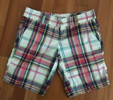 Aeropostale Juniors  Stretchy Multi Color Plaid Short Size 0