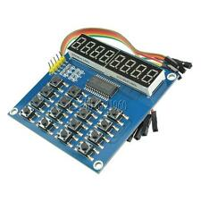 TM1638 Digital 8 Bits 16 Keys LED Keyboard Scan And Display Module Digital Tube