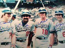 The Greatest Infield Ever 16x20 Ron Cey Davey Lopes Bill Russell Steve Garvey