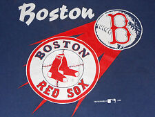 Vintage 1992 BOSTON RED SOX 50/50 T Shirt Youth XL Adult S Made in USA Hanes