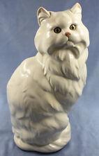 Rießige Katze Porzellanfigur hutschenreuther Perserkatze figur porzellan 1970