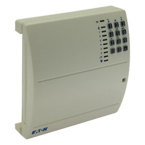 EATON SCANTRONIC 9448EUR-90 Compact Alarm Control Panel with On-board Keypad