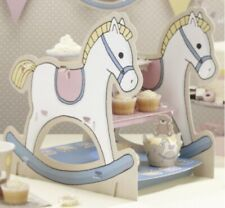 Rock A Bye Baby Baby Shower Party 3 Tier Rocking Horse Cake Stand