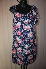MISS SHOP Size 6 Blue Floral Tunic Dress