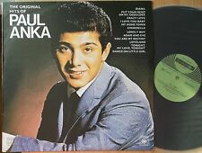PAUL ANKA  BULGARIA BALKANTON LP: THE ORIGINAL HITS OF (BTA 1160;LABEL HELLGRÜN)