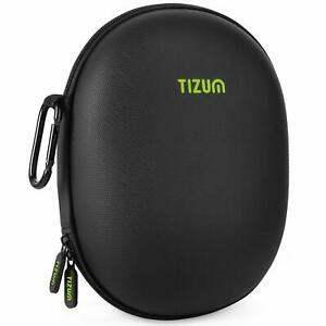 Tizum Z61 Headphone Case for Bluetooth Earphone with Carabiner Hook (Black)
