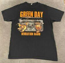 GREEN DAY Revolution Radio T-Shirt MEN'S MEDIUM Soft Tee Pop Punk Rock Band Vtg