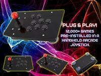 ARCADE JOYSTICK (12,000+ BUILT-IN-GAMES) - RASPBERRY PI 4B -RETROPIE GAME SYSTEM