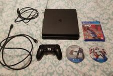 Sony Playstation 4 PS4 Slim Console Bundle * 3 Games * FREE SHIPPING