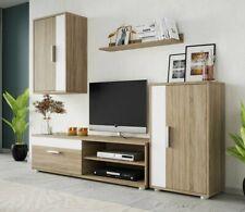 Wohnwand Pryskus Mini Schrankwand Wohnzimmer-Set TV-Möbel Modern Mediawand M24