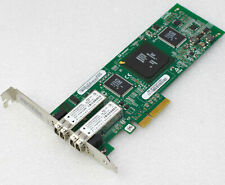 4GBit DUAL NETZWERKKARTE FIBRE CHANNEL PCI-E 1x 4x QLE2462-IBM IBM 339R6528 #NW6