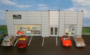 Low Relief  Car Showroom Jaguar Dealer,  Self Assembly Card Kit .