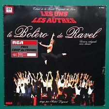 Michel Legrand LES UNS ET LES AUTRES Film Soundtrack LP BoF Claude Lelouch Ravel