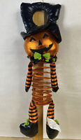 Plush Pumpkin Door Hanger Fall Halloween Decoration