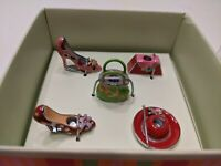 HALLMARK - Birthday Candle Holders - Set of 5 Purse Shoes Hat