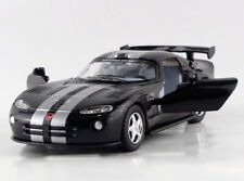 Black 1:34 Dodge 2013 VIPER GTS Stripe Tail Diecast Model Car Pullback Kinsmart