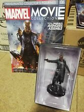 MARVEL MOVIE COLLECTION ISSUE 6 NICK FURY EAGLEMOSS FIGURINE FIGURE & MAGAZINE