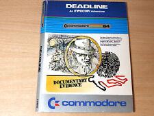 Commodore 64 Disc - Deadline by Commodore