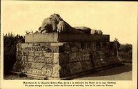Verdun Kriegsschauplatz Mahnmal ~1920/30 Monument Chapelle Sainte-Fine Löwe Lion