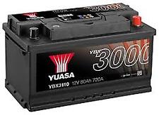 YUASA PREMIUM 12v Type 110 Car Battery 3 Year Warranty - EB802 YBX3110