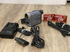 Panasonic Pv-Gs9 800x Digital Zoom Mini Dv Digital Camcorder *Great Cond/Tested*