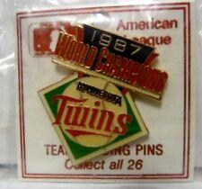 VINTAGE MINNESOTA TWINS PIN - 1987 WORLD SERIES - NEW