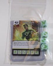 DC Dice Masters Green Arrow Flash * POWER RING * Set RARE Uncommon CUR + 4 DICE