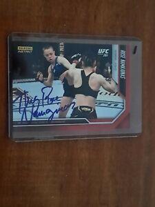 Rose Namajunas Autograph 2021 PANINI Instant UFC #8 4/24/21 Thug stuns Zhang #1