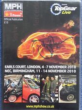 Top Gear Live MPH show Official Publication SIGNED Tiff Needell