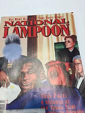 April 1992 National Lampoon Magazine - Mike Tyson Heavyweight Champion