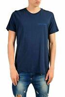 Versace Jeans Men's Blue Short Sleeve Crewneck T-Shirt US S IT 48