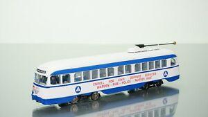 Con-Cor 1936-1970 PCC Streetcar Civil Defense DCC Ready HO scale