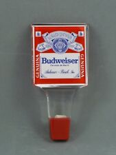 NEW 1990s BUDWEISER BEER (In Spanish) 5¾ inch Lucite Tap Handle