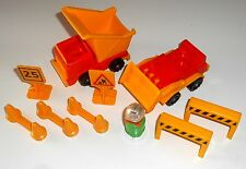 1985 Vintage Fisher Price Little People ~ #2352 LITTLE PEOPLE CONSTRUCTION SET