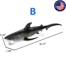 Simulation Sea Life Animals Shark Whale Action Figures Model Education Kids Toys