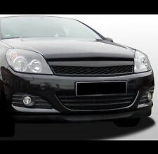 Für Opel Astra H Kühlergrill Front Waben Grill 3-Türer VXR TwinTop GTC Schwarz-