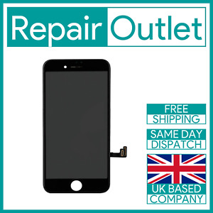 Apple iPhone 7 Black LCD Touch Screen Digitizer Display Replacement 3D Touch