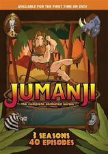 JUMANJI COMPLETE ANIMATED TV SERIES New 3 DVD Set Seasons 1 2 3 All 40 Episodes