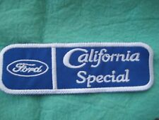 "Ford Mustang California Special Uniform Patch 5 1/4"" X 1 3/4"""