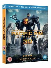 Pacific Rim - Uprising (3D Edition with 2D Edition + Digital Download) [Blu-ray]