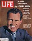 ORIGINAL Vintage March 16 1962 Life Magazine Richard Nixon