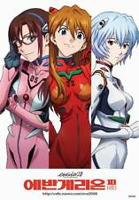 EVANGELION: 2.0 YOU CAN (NOT) ADVANCE Movie POSTER 11x17 Japanese H Megumi
