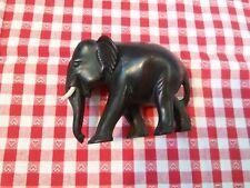 Elefant Elephant Afrika Dekofigur Geschenk Kunstharz? Holz? schwarz Dekoration