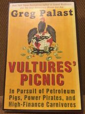 Greg Palast Signed Hardcover First Edition Vultures' Picnic Petroleum And Power
